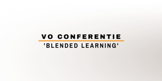 VO Conferentie 'Blended learning'