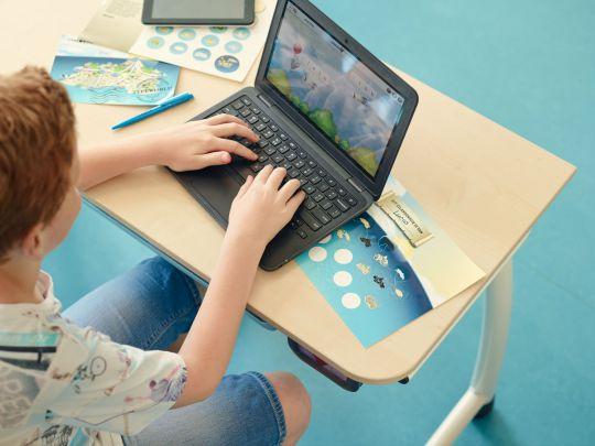 TypeWorld online typecursus voor het basisonderwijs
