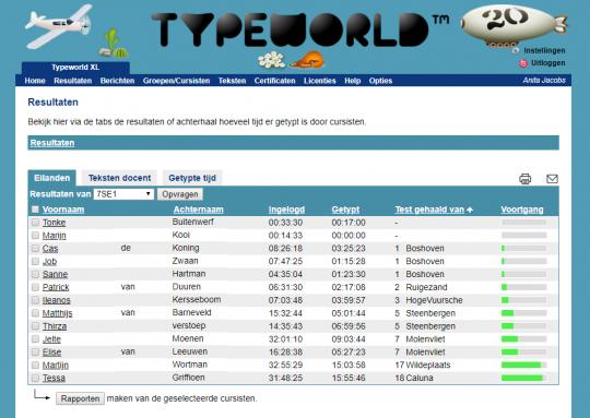 TypeWorld XL typecursus mbo