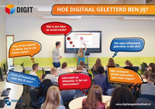 poster digitale geletterdheid