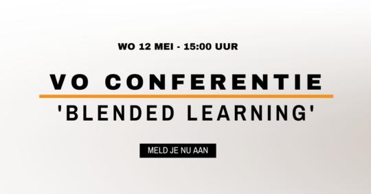 VO Conferentie Blended learning