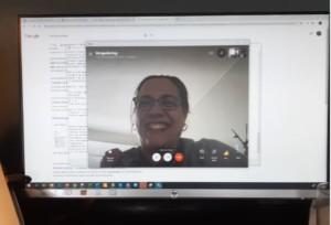 in gesprek met informaticadocent Petra van Horen