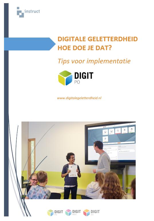 Whitepaper Digitale geletterdheid, hoe doe je dat in het basisonderwijs?